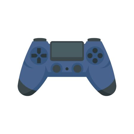 Joystick icon. Flat illustration of joystick vector icon for web design