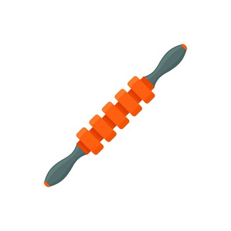 Massage stick icon, flat style