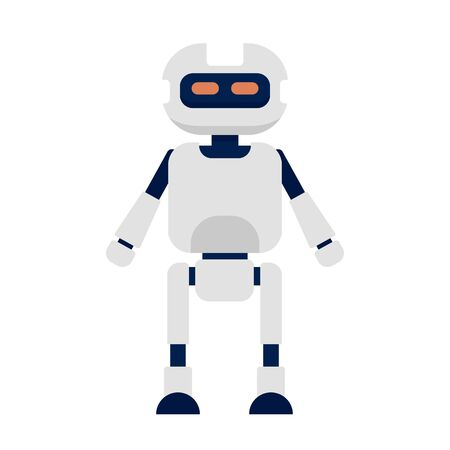 Humanoid icon, flat style Иллюстрация