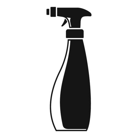 Cleaner spray icon, simple style