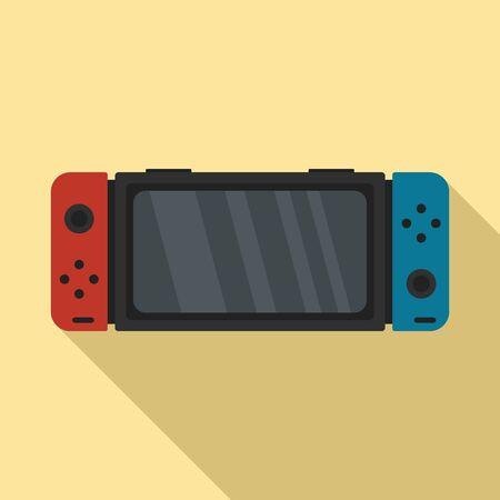 Icône de commutateur Nintendo. Télévision illustration de l'icône vecteur commutateur nintendo pour la conception web