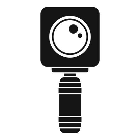 Underwater action camera icon, simple style Иллюстрация
