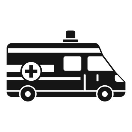 Ambulance icon, simple style Stok Fotoğraf - 133433762