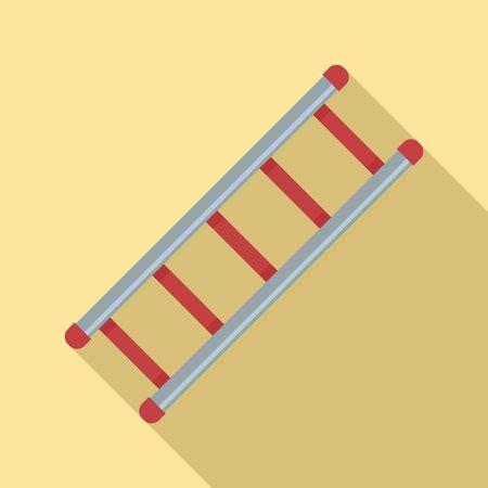 Ladder icon, flat style Ilustrace