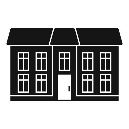 City cottage icon, simple style Stock fotó - 133965957