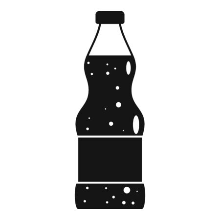 Soda icon, simple style
