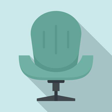 Mobility armchair icon, flat style Stock fotó - 134492552