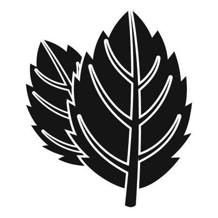 Mint icon, simple style Illusztráció