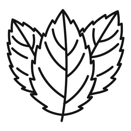 Mint icon, outline style Illusztráció