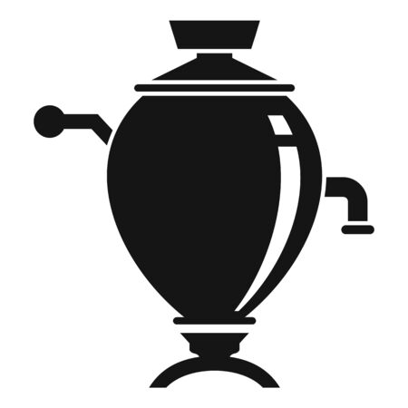 Tea cuisine icon, simple style
