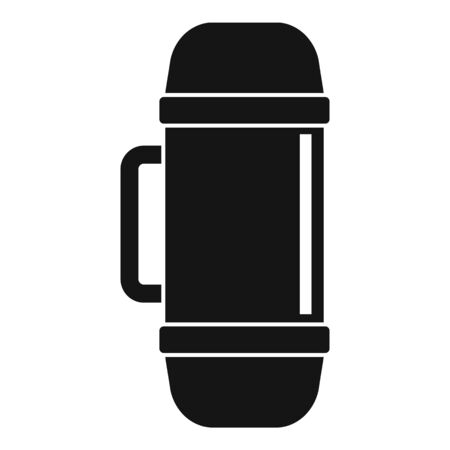 Home insulated bottle icon, simple style