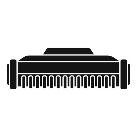 Digital cartridge icon. Simple illustration of digital cartridge vector icon for web design isolated on white background Vektoros illusztráció