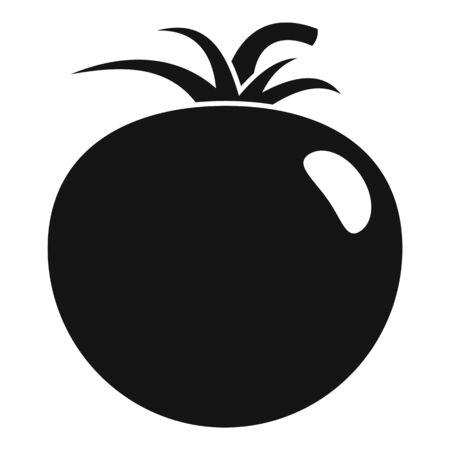 Cherry tomato icon, simple style