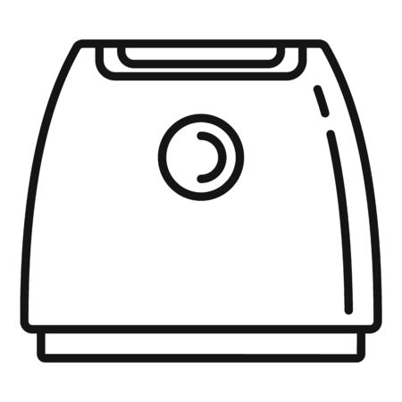 Ionizer air purifier icon. Outline Ionizer air purifier vector icon for web design isolated on white background