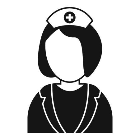 Specialist nurse icon, simple style