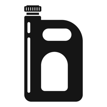 Cleaner canister icon. Simple illustration of cleaner canister vector icon for web design isolated on white background