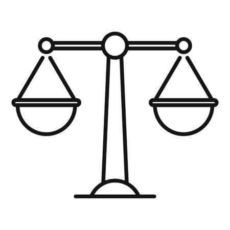 Money wash balance icon, outline style