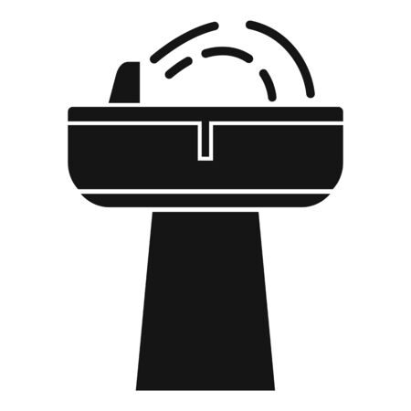 Drink fountain icon, simple style