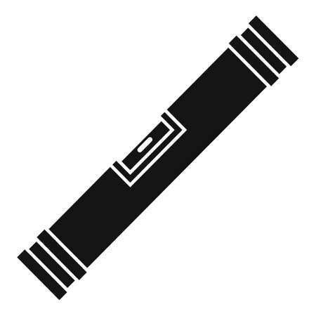 Level bar icon, simple style