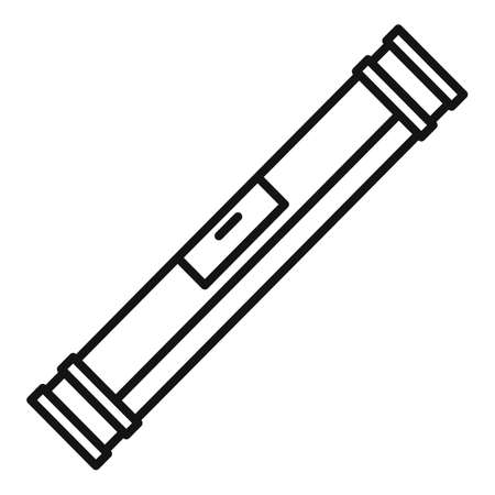 Level bar icon, outline style