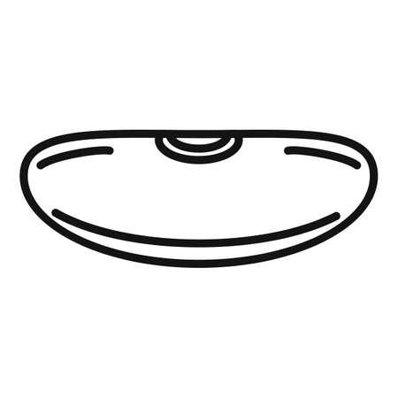 Adzuki kidney bean icon, outline style