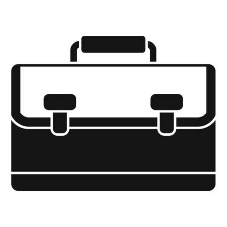 Marketing bag icon, simple style