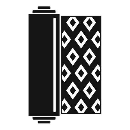 Construction linoleum icon, simple style 向量圖像