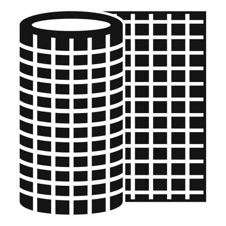 Floor linoleum icon, simple style