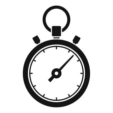 Stopwatch repair icon, simple style