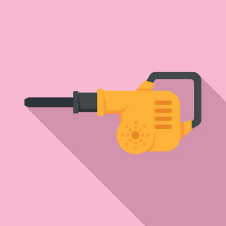 Gasoline leaf pump icon, flat style
