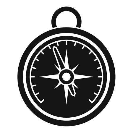 Home barometer icon, simple style