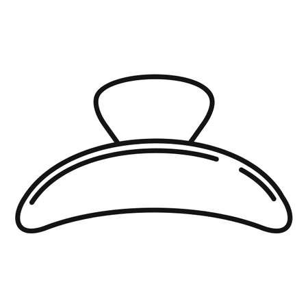 Studio barrette icon, outline style Иллюстрация