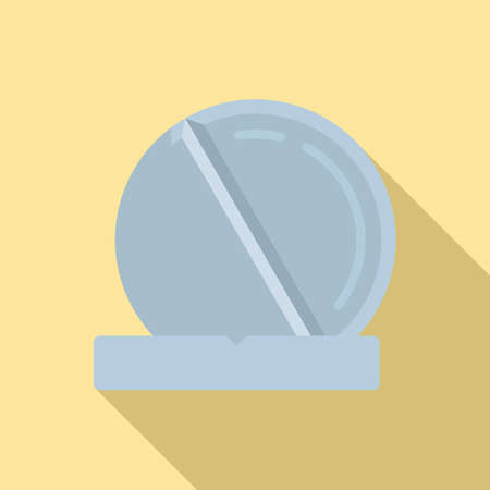 Pill icon, flat style