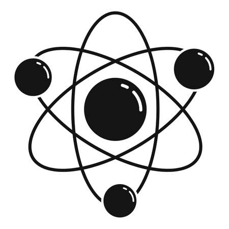 Science gravity icon, simple style