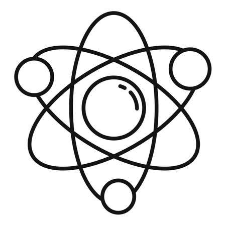 Science gravity icon, outline style