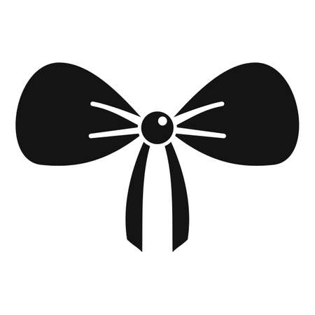 Small bra icon, simple style