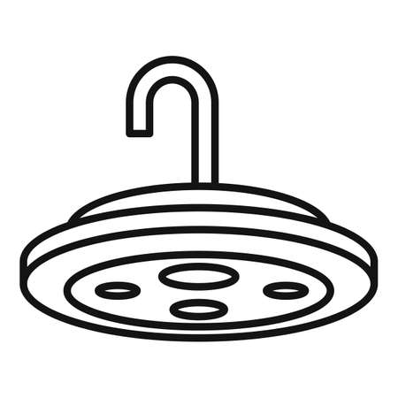 Doctor surgical light icon, outline style
