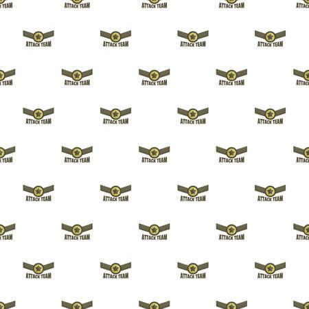 Attack team pattern seamless