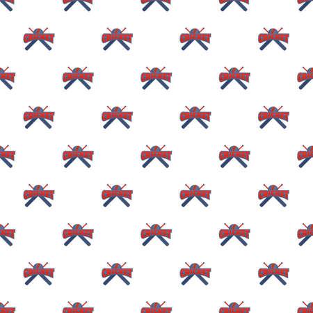 Cricket pattern seamless 版權商用圖片