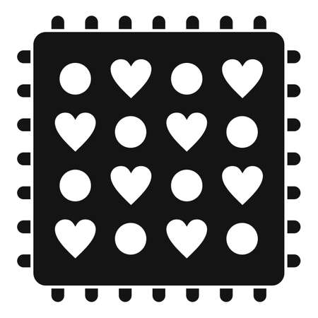 Fabric feature icon, simple style Stock fotó