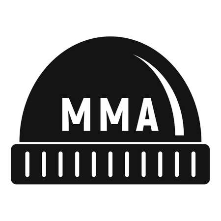 Mma beanie icon, simple style 版權商用圖片