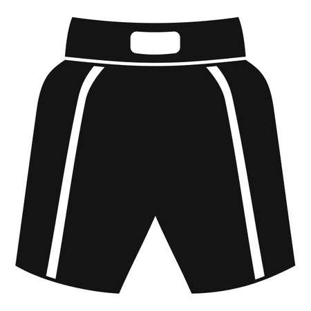 Boxing shorts icon, simple style 版權商用圖片