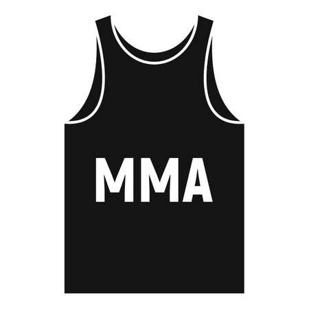 Mma shirt icon, simple style 版權商用圖片