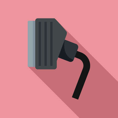 Tv adapter icon, flat style