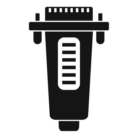 Printer adapter icon, simple style