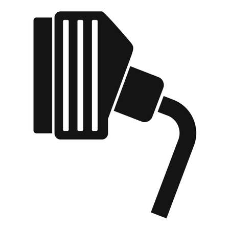Tv adapter icon, simple style