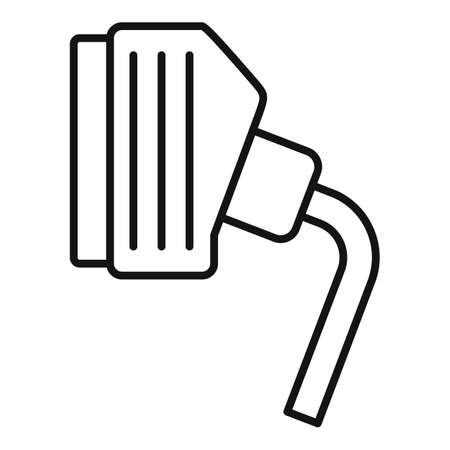Tv adapter icon, outline style