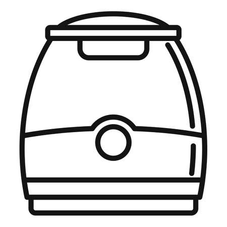 Air purifier appliance icon, outline style Stok Fotoğraf