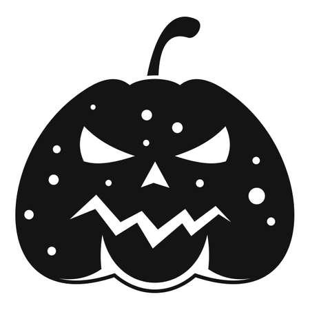 Squash pumpkin icon, simple style