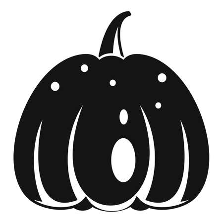 Season pumpkin icon, simple style Stok Fotoğraf